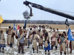 "Corporate ""Braveheart-esque"" shoot on location at the Ranch with 8 horses"